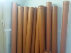 Труба ПВХ для наружной канализации (110 мм)